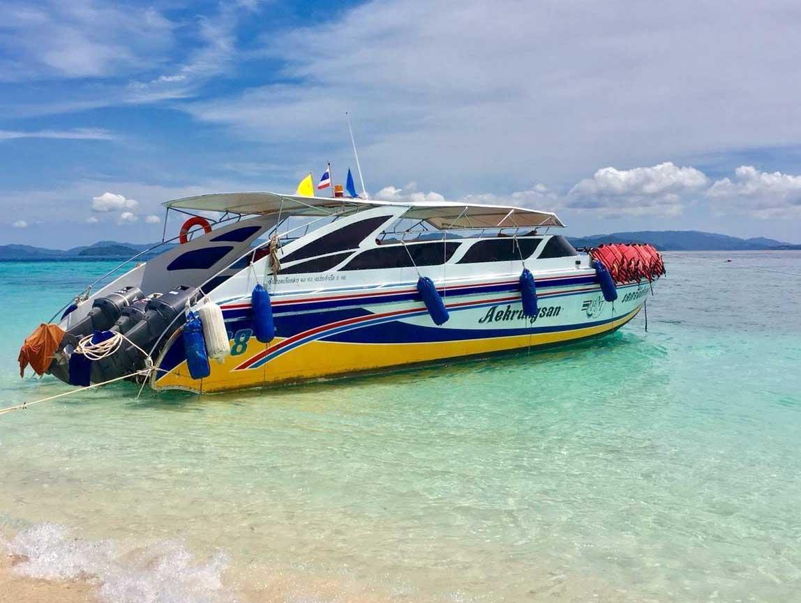 ทัวร์เกาะพีพี เกาะไข่ โดยเรือเร็ว จากภูเก็ต