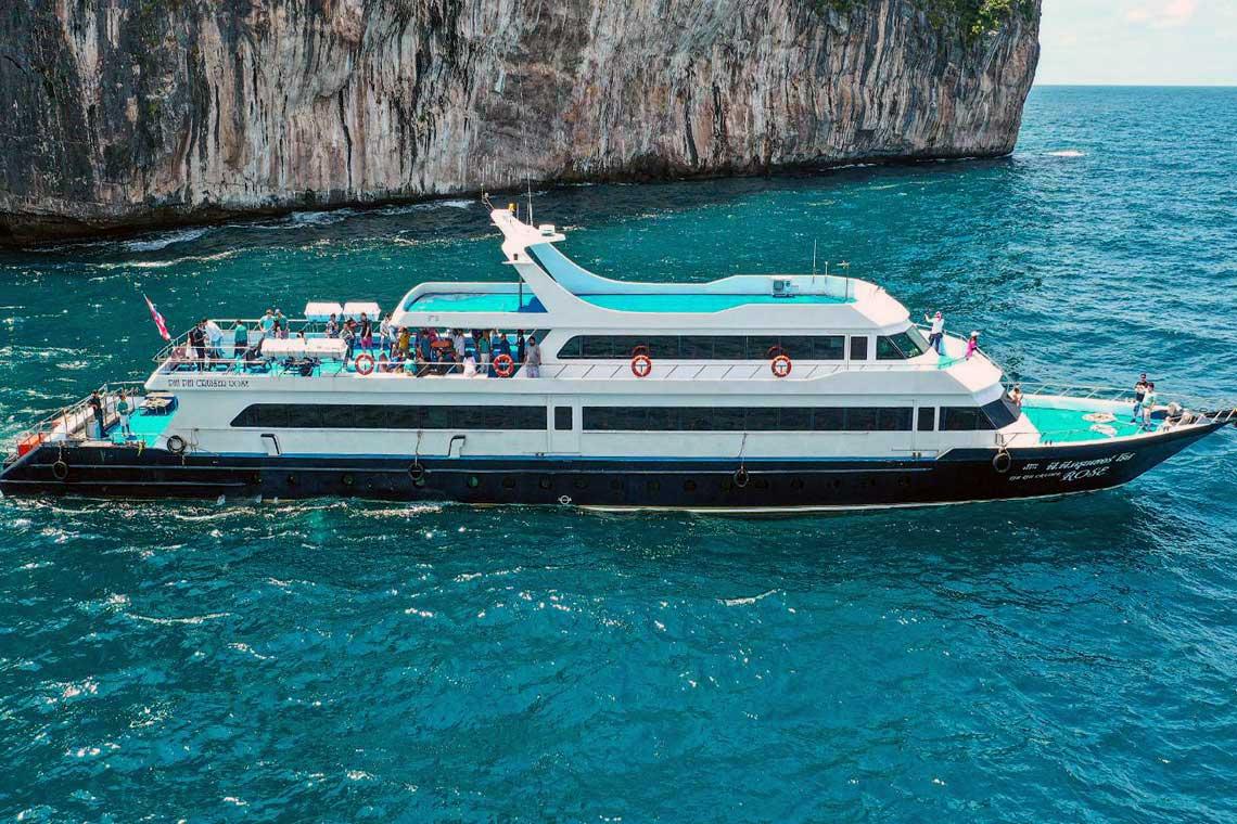 ทัวร์เกาะพีพี เรือเฟอร์รี่ เรือใหญ่