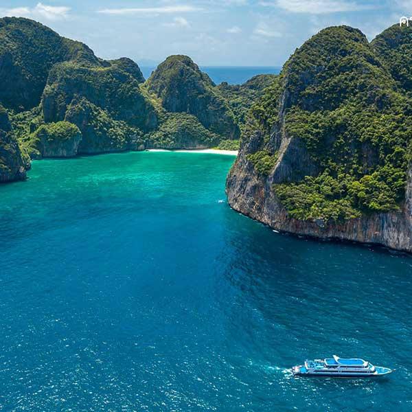 ทัวร์-อ่าวมาหยา-เกาะพีพี-เรือเฟอร์รี่