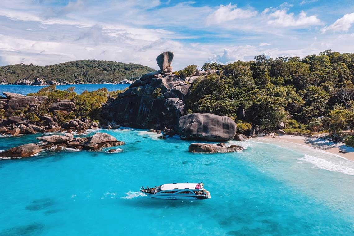 ทัวร์เกาะสิมิลัน 1 วัน seastar