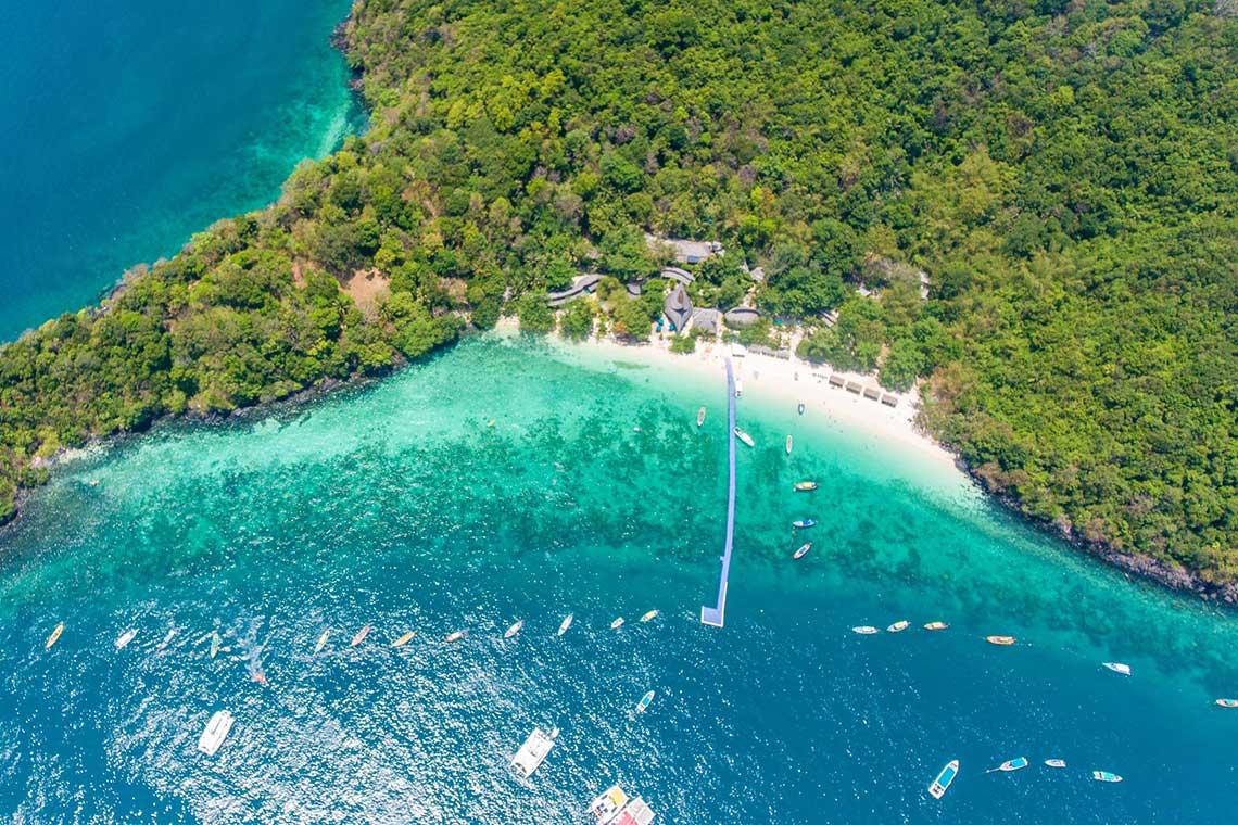 เกาะเฮ ทัวร์บานาน่าบีช 1 วัน เรือสปีดโบ๊ท