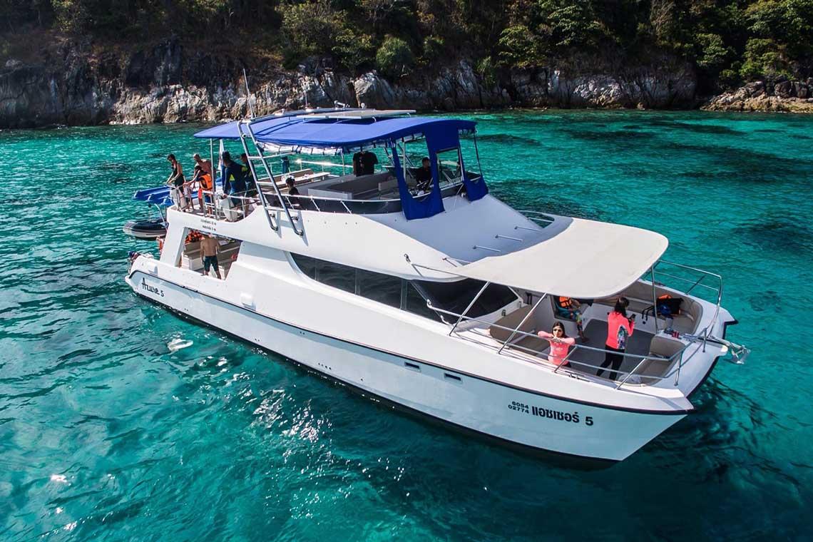 เกาะไม้ท่อน-เกาะราชา Sunset Dinner เรือ Power Catamaran