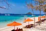 เก้าอี้-ชายหาด-เกาะเฮ