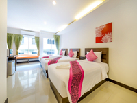 รับ-จอง-โรงแรม-ป่าตอง-ราคา-ประหยัด-the-three-by-apk-family-room