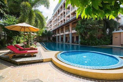 Phuket-Accommodation-Patong-Beach-Thanthip-Resort-Three-Star