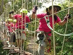 กิจกรรมผาดโผนบนต้นไม้-โหนสลิง-กระบี่-ทรีท็อป-แอดเวนเจอร์-14