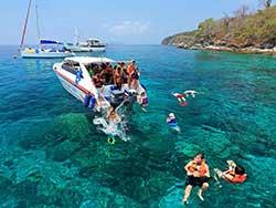 ทัวร์ครึ่งวันบ่าย-เกาะเฮ-Coral-Island-โดยเรือเร็ว-เที่ยวภูเก็ต-ราคาถูก-5