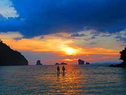 ทัวร์ครึ่งวันบ่าย-7-เกาะ-ชมพระอาทิตย์ตก-โดยเรือใหญ่-เที่ยวกระบี่ราคาถูก-14