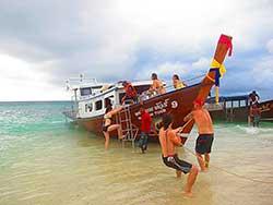 ทัวร์ครึ่งวันบ่าย-7-เกาะ-ชมพระอาทิตย์ตก-โดยเรือใหญ่-เที่ยวกระบี่ราคาถูก-16