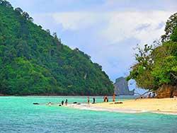 ทัวร์ครึ่งวันบ่าย-7-เกาะ-ชมพระอาทิตย์ตก-โดยเรือใหญ่-เที่ยวกระบี่ราคาถูก-18