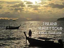 ทัวร์ครึ่งวันบ่าย-7-เกาะ-ชมพระอาทิตย์ตก-โดยเรือใหญ่-เที่ยวกระบี่ราคาถูก-24