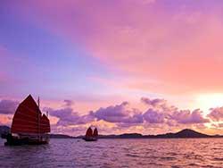 ล่องเรือสำเภา-จูน-บาทรา-ชมพระอาทิตย์ตก-อ่าวพังงา-3