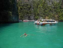 ทัวร์เกาะพีพีดอน-พีพีเล-อ่าวมาหยา-เรือเร็ว-เที่ยวภูเก็ต