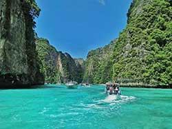 เกาะพีพี-วันเดย์ทัวร์-ดำน้ำ-ชมปะการัง-เรือเร็ว