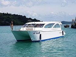 เรือคาตามารัน-ทัวร์เกาะรอก