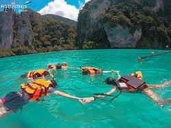 ทัวร์-ดำน้ำตื้น-อ่าวปิเละ-เกาะพีพี