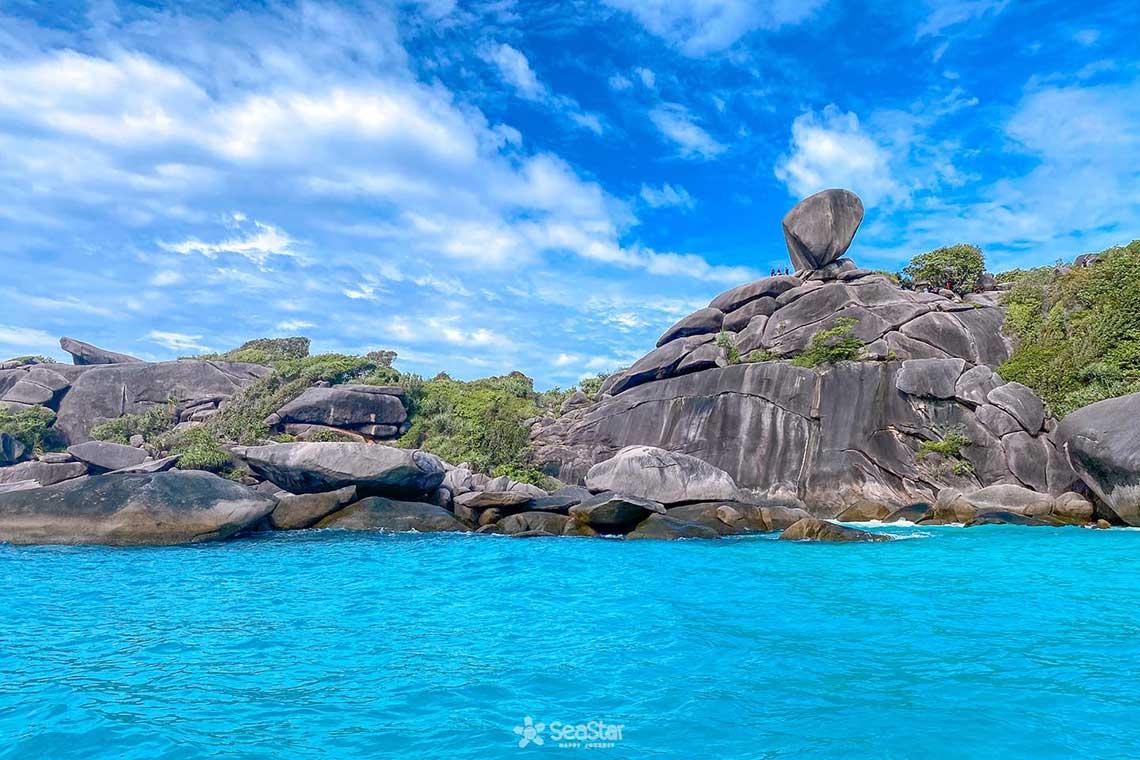 เกาะสิมิลัน ราคา เรือสปีดคาตามารัน 1 ชั้น