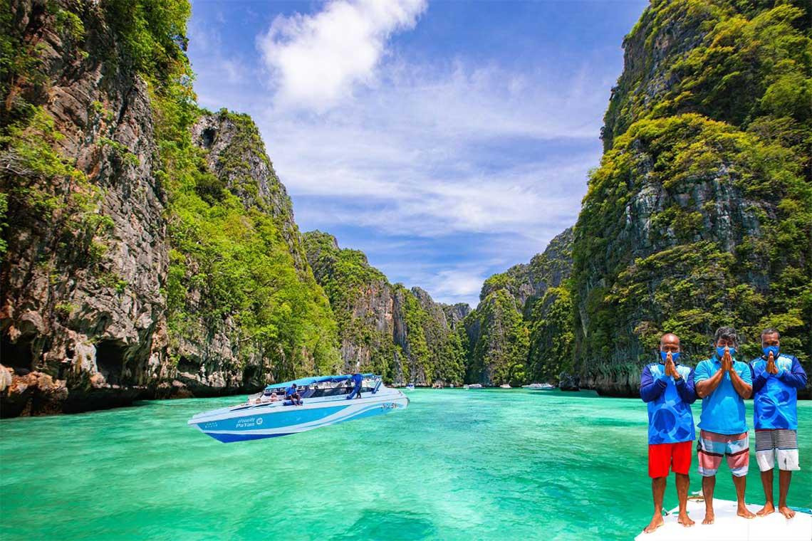 เกาะพีพี-เกาะไข่ พรีเมี่ยมทริป สปีดโบ๊ท SeaStar