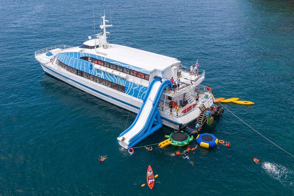ทัวร์ครึ่งวันบ่าย ซันเซ็ท ล่องเรือ Royal Phuket Cruise
