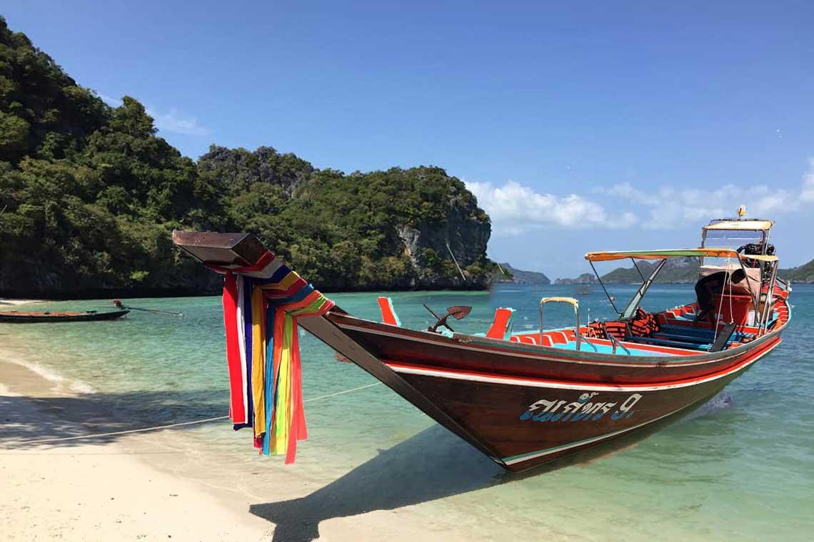 เช่าเหมาลำ เรือหางยาว ทัวร์เกาะแตน เกาะมัดสุม เกาะหมู